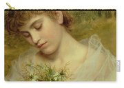 Love In A Mist Carry-all Pouch by Sophie Anderson