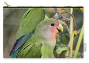 Lovebird Couple  Carry-all Pouch