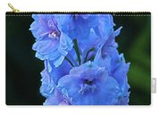 Lovely Larkspur Blue Carry-all Pouch