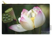 Lovely Lotus Carry-all Pouch