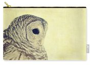 Lovely Lucy Barred Owl Carry-all Pouch