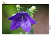 Lovely Monkshood Carry-all Pouch