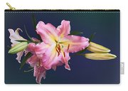 Lovely Pink Lilies Carry-all Pouch