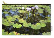 Loving Lilypads Carry-all Pouch