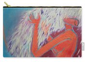 Loving My Angel Carry-all Pouch by Ana Maria Edulescu