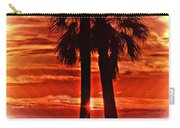 Loving Palms-the Journey Carry-all Pouch