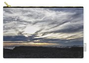 Low Hanging Clouds At Sunset Carry-all Pouch