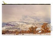 Low Winter Storm Clouds Colorado Rocky Mountain Foothills 6 Carry-all Pouch