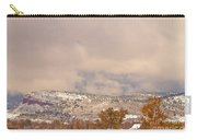 Low Winter Storm Clouds Colorado Rocky Mountain Foothills 7 Carry-all Pouch
