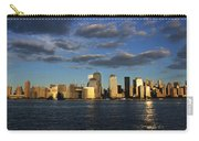 Lower Manhattan At Sunset, Viewed From Carry-all Pouch