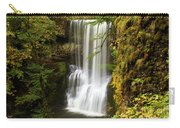 Lower South Falls At Silver Falls Carry-all Pouch