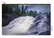 Lower Water Falls At Wawa Ontario Carry-all Pouch