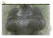 Lowland Silverback Gorilla Carry-all Pouch