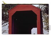 Loy's Station Covered Bridge Carry-all Pouch
