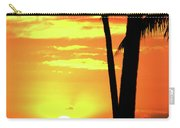Luau Sunset Carry-all Pouch