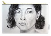 Lucy Liu Portrait Carry-all Pouch