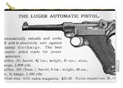 Luger Automatic Pistol Carry-all Pouch