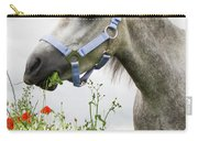 Lulu In The Poppy Field Carry-all Pouch