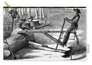 Lumbering: Saw, 1879 Carry-all Pouch