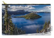 Luminous Crater Lake Carry-all Pouch