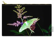 Luna Moth On Astilby Flower Carry-all Pouch
