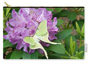 Luna Moth On Rhododendron 1 Carry-all Pouch