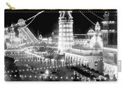 Luna Park - Coney Island - New York At Night - C 1903  Carry-all Pouch