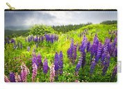 Lupin Flowers In Newfoundland Carry-all Pouch
