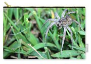 Lurking Spider In The Grass Carry-all Pouch