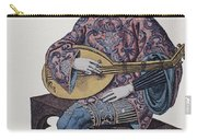 Lute Player, 1839 Carry-all Pouch by Granger