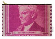 Luther Burbank Postage Stamp Carry-all Pouch