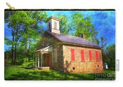 Lutz-franklin Schoolhouse Carry-all Pouch by Paul Ward