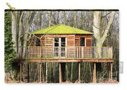 Luxury Tree House In The Woods Carry-all Pouch
