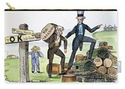 M. Van Buren: Cartoon, 1840 Carry-all Pouch