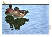 Ma And Pa Wood Duck Carry-all Pouch
