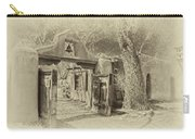Mabel's Gate As Antique Print Carry-all Pouch