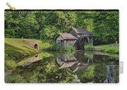 Mabry Mill And Pond With Reflection Carry-all Pouch