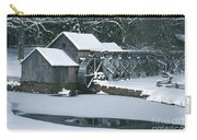 Mabry Mill Winter Carry-all Pouch