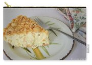 Macadamia Nut Cream Pie Slice Carry-all Pouch