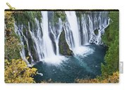 Macarthur-burney Falls In Autumn Carry-all Pouch