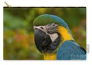 Macaw Parrot Stare Down Carry-all Pouch