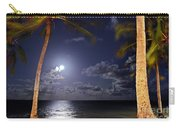 Maceio - Brazil - Ponta Verde Beach Under The Moonlit Carry-all Pouch