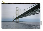 Mackinac Bridge From Water Carry-all Pouch
