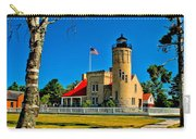 Mackinac Point Light Carry-all Pouch