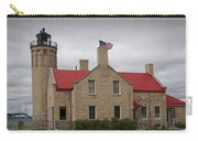 Mackinaw City Lighthouse Number 2446 Carry-all Pouch