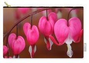 Macro Bleeding Hearts Carry-all Pouch