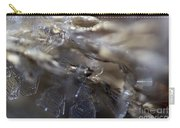 Snowflake Intimate Views Carry-all Pouch