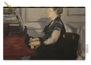 Madame Manet At The Piano Carry-all Pouch