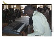 Madona Playing Piano In Nigerian Church Carry-all Pouch