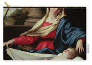 Madonna And Child  Carry-all Pouch by II Sassoferrato